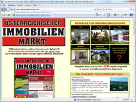 Österreichischer Immobilien Markt